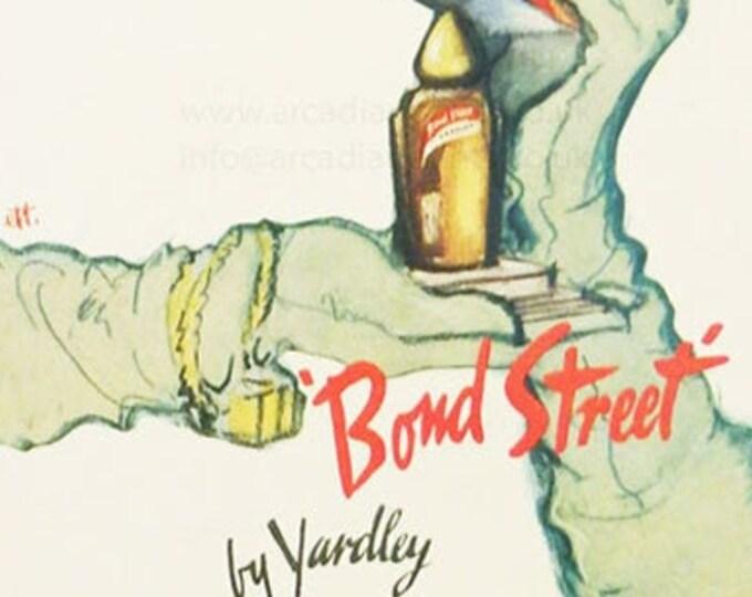 Vintage advertising print: Bond Street by Yardley