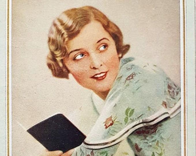 "Pond's Cream vintage advert, featuring ""Cigarini"""
