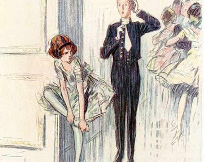 Vintage Punch cartoon, illustrated by Claude Shepperson