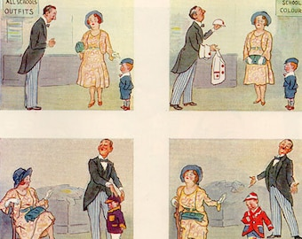 Vintage Punch cartoon, illustrated by G L Stampa