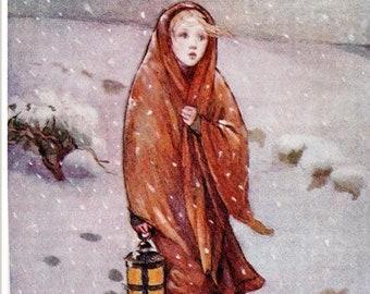 Antique children's print, illustrated by M Dibdin Spooner
