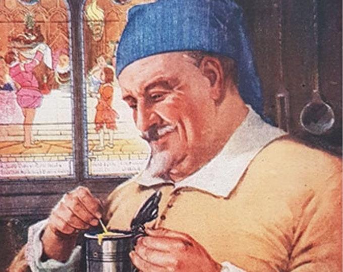 Vintage advert for Colman's Mustard