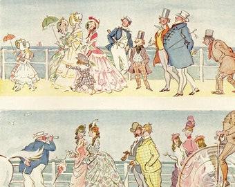 Vintage Punch cartoon, 80 Years of Change
