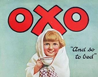Oxo vintage advertisement