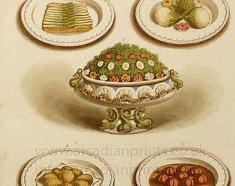 Cassell's Household Guide, vegetable dishes