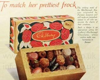 Cadbury chocolate advert
