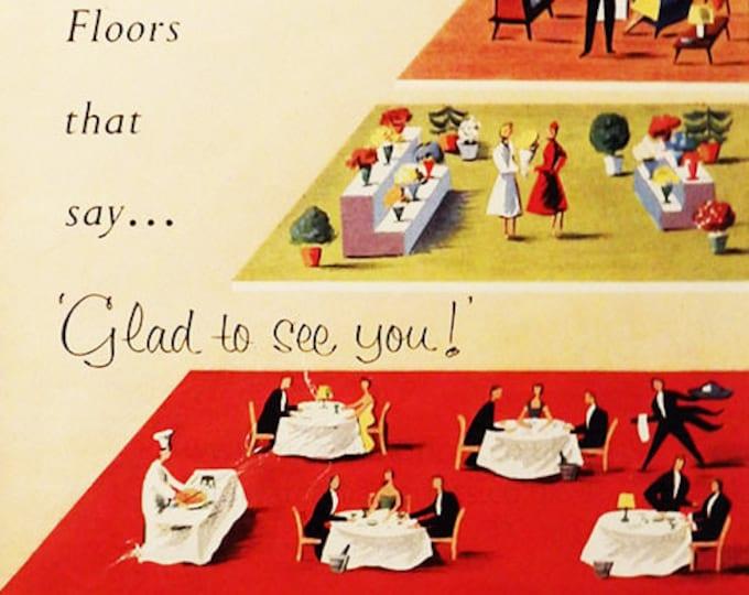Semtex Floors vintage advert