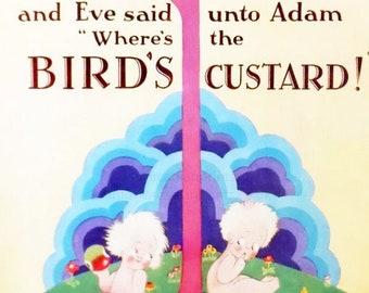 Bird's Custard vintage advertisement