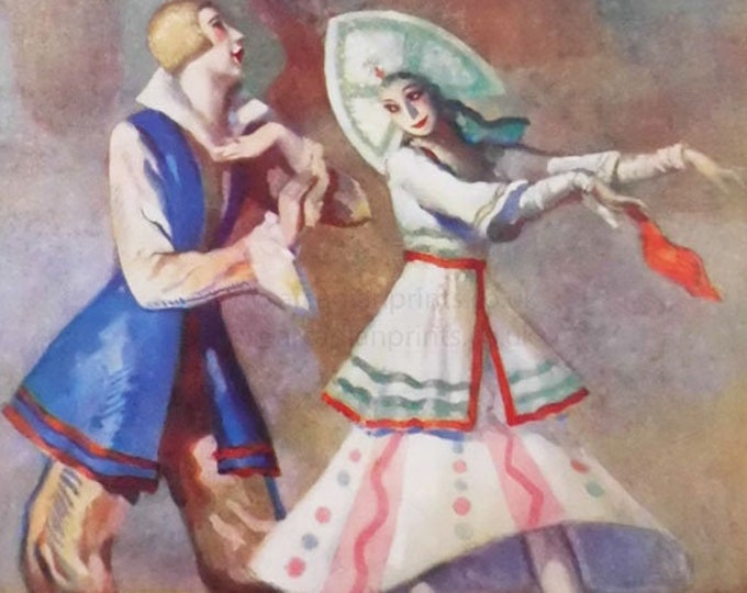 The Charm of the Russian Ballet. By Hookway Cowles