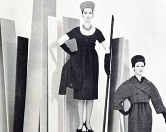 Vintage fashion from Harper's Bazaar