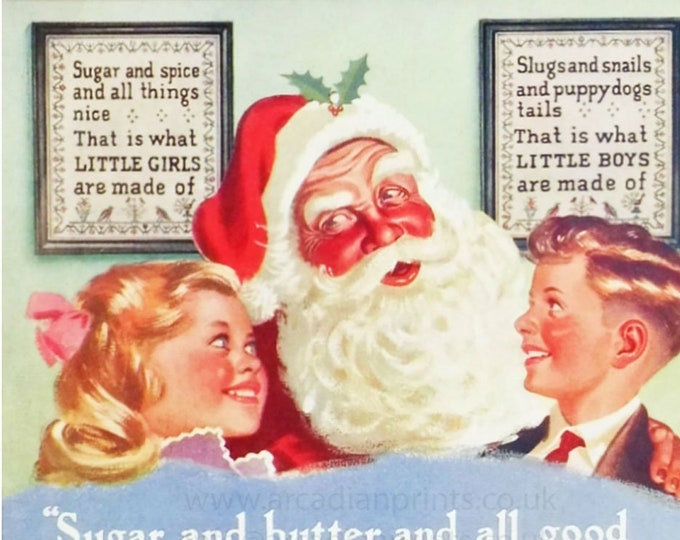 Crawford's Tartan Shortbread advert