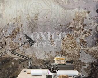 Concrete wallpaper Etsy
