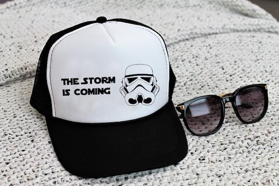 ee87edb08 Disney Star Wars Trucker Hat, Storm Trooper Snapback