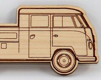Volkswagen Bus Type 2 Bus, Double Cab Transporter, Stock