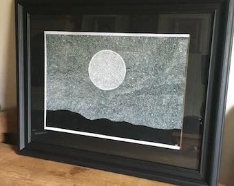 A3 Original framed painting