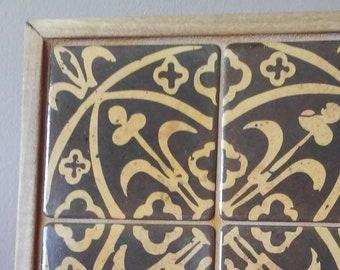 Fontenay Abbey II Tile Mosaic