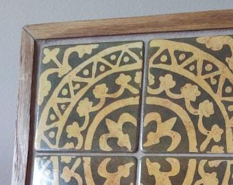 Fontenay Abbey Tile Mosaic