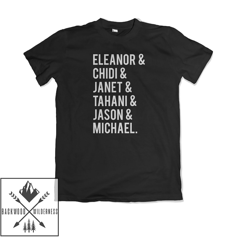 Good Names List Funny Tv Show Place Slogan Gift Inspired Bad Janet What The  Fork Unisex Mens Womans T Shirt