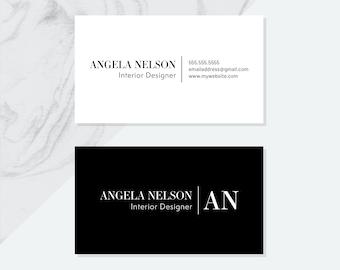 Pdf business card etsy premade business card design pdf digital files pre made business cards personalized name business card design business card design pdf reheart Choice Image