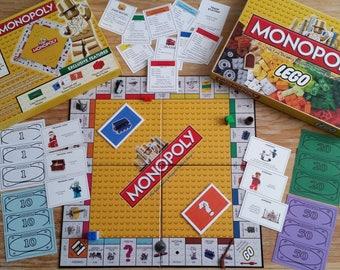 Lego Monopoly Legopoly