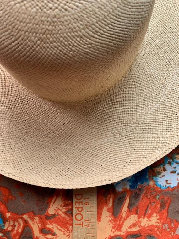 Elegant Brooks Brothers Straw Hat/ Vintage Brooks… - image 7