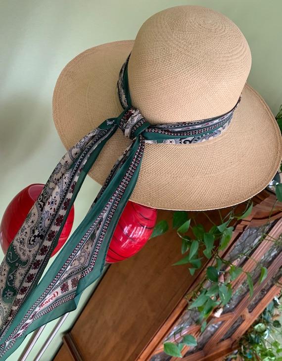 Elegant Brooks Brothers Straw Hat/ Vintage Brooks… - image 4