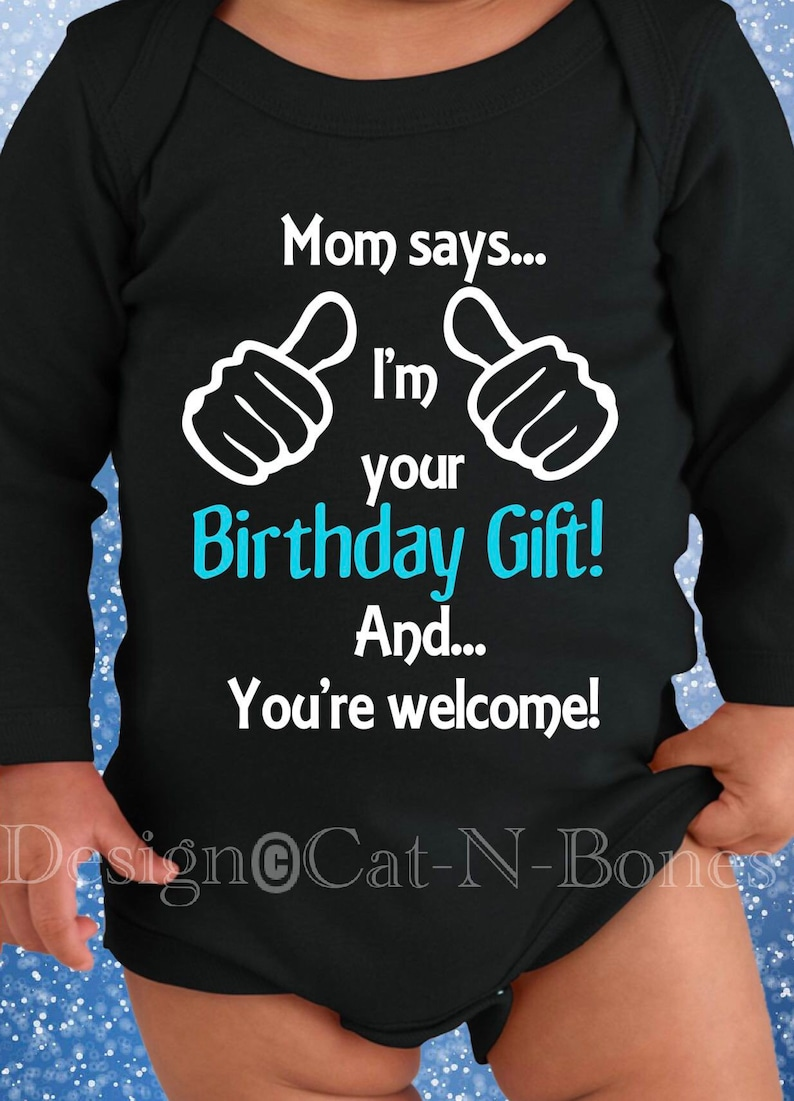 Kids \u201cIm Your Gift\u201d Gift for Husband Birthday Gift to Dad from Baby New Dad Birthday Gift for New Dad Birthday Gift to Dad from Toddler