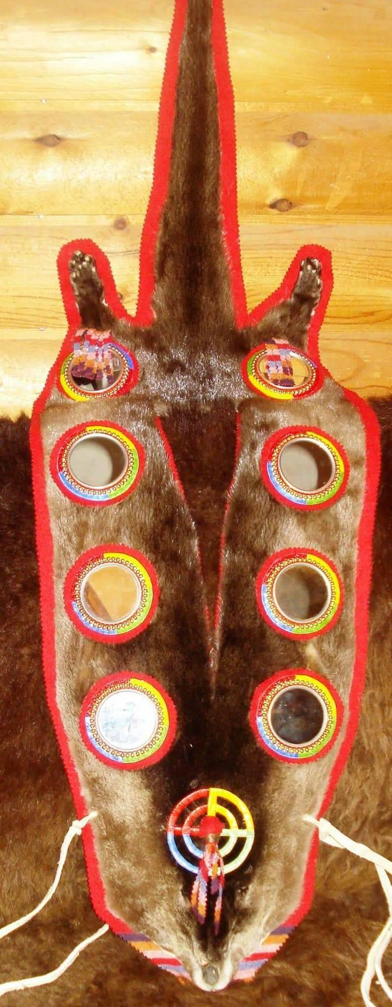 Native american dance otter cape