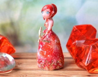 Sagittarius. The element of fire, handmade dolls, miniature dolls, fantasy art, Tiny doll, cute toy, dollhouse toy, home ornaments, dolls