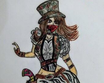 Steampunk Cowgirl (Elise - Revelations of Vengeance)