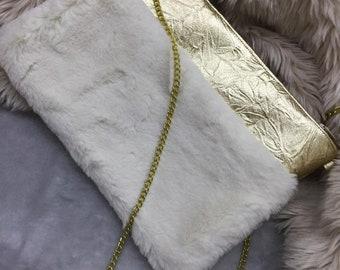 White stylish bag