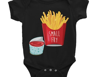 Infant french fry Bodysuit