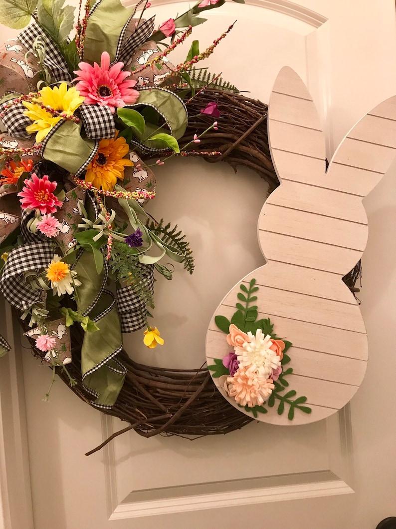 Farmhouse Easter Wreath