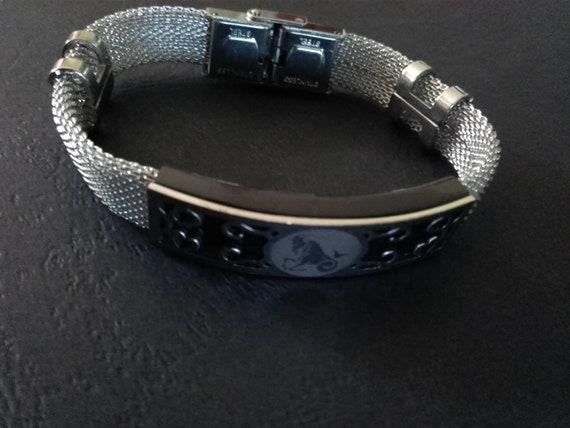 Sternzeichen Steinbock Armband Geschenk Mann Frau Geschenk