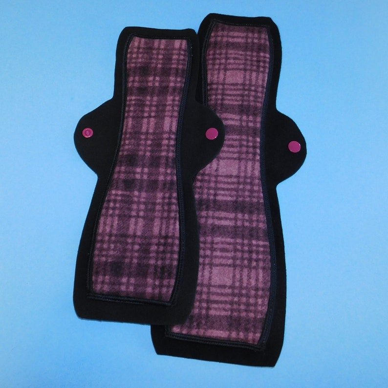 Washable Menstrual Pad  14 or 12 in Heavy or image 0
