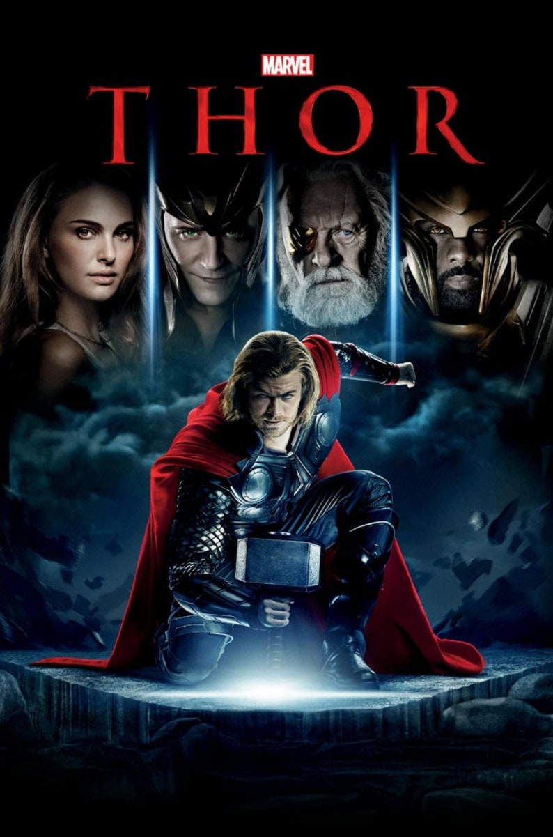 Image result for thor movie poster