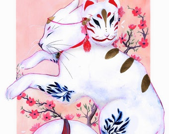 kitsune cat original