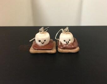 Cute S'mores Earrings