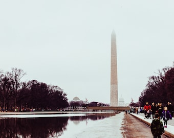 Reflecting Pool Digital Print