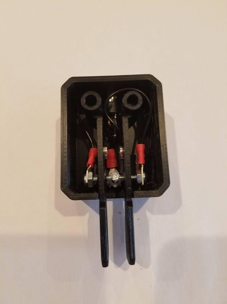 3D Printed Iambic Key Black