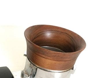 58mm Espresso dosing ring, Portafilter funnel, barista equipments, espresso funnel,wooden funnel