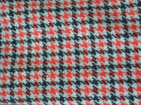 Vintage 70s Houndstooth Suit Jacket, fully lined … - image 4
