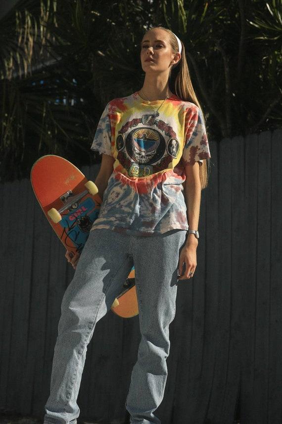 Vintage 90's Grateful Dead tie Dye Tee, 1994 Summ… - image 3