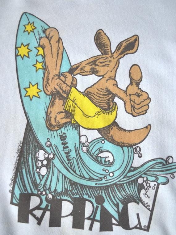 Vintage 80s Australian Kangaroo Shirt. 80s Kangar… - image 2