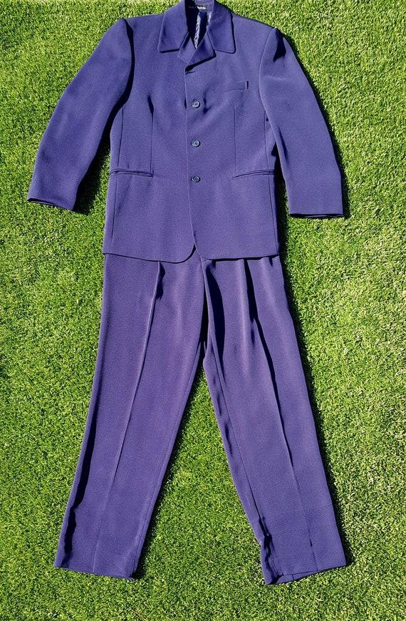 Vintage 90s Suit, Retro 90s Full Suit, Vintage 90s