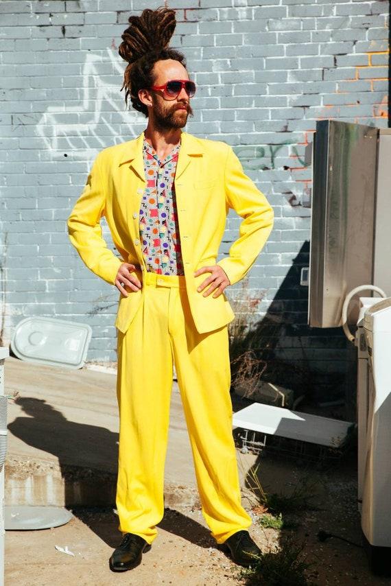 Vintage 80s Suit, Vintage 80s Mens Suit, Vintage 8