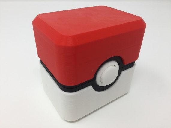 Pokebox Pokemon 3ds Ds Game Card Holder Etsy