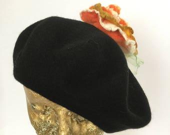 6cc53c6235234 Rose wool beret