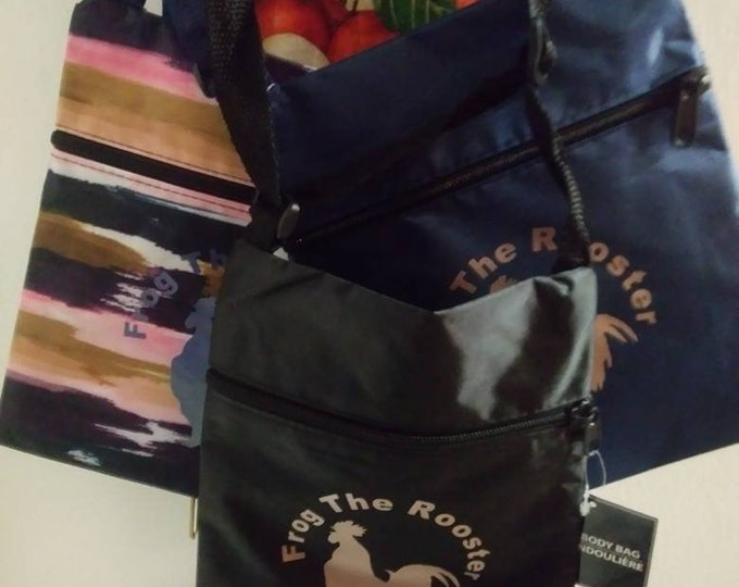 Messenger Frog Bags