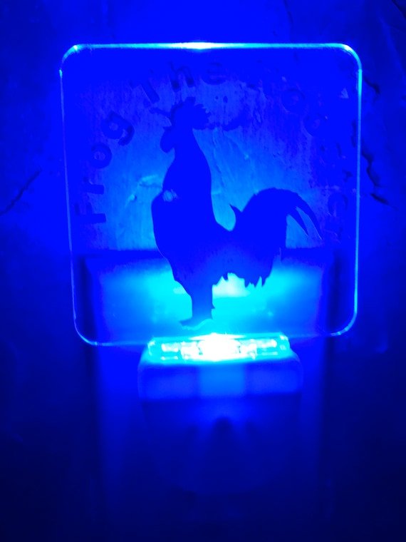 LED Blue Night Lights
